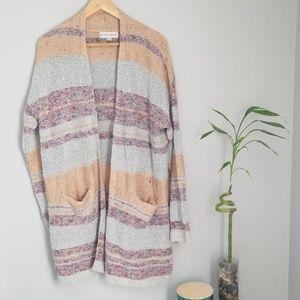 Knox rose striped sweater
